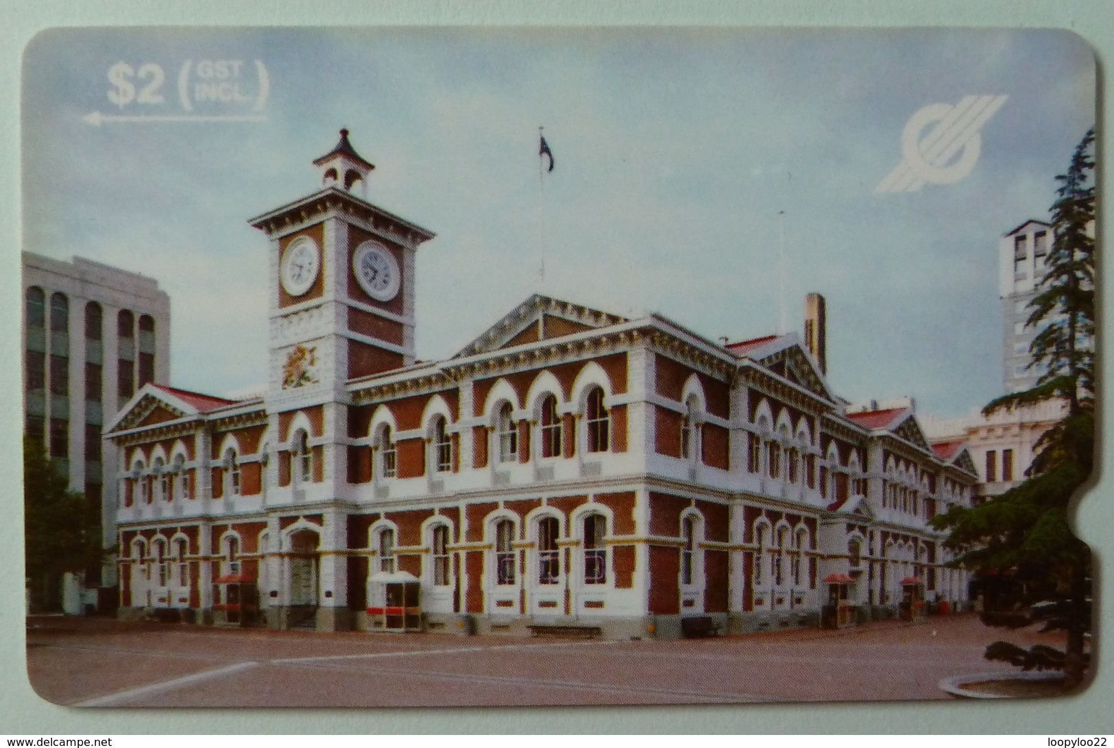NEW ZEALAND - GPT - NZ-G-1 - Chief Post Office, Christchurch - 1989 Trial Issue - $2 - Used - New Zealand