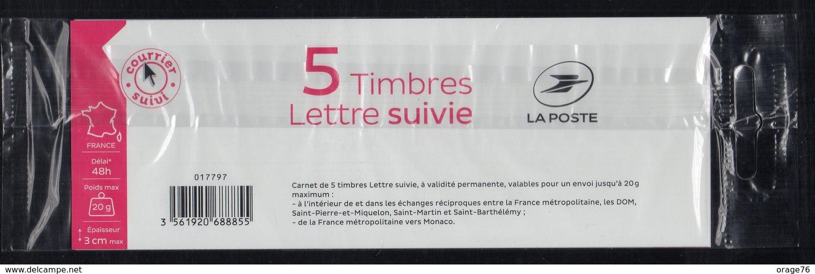"""1 CARNET COMPLET DE 5 NOUVEAUX TIMBRES  SUIVIS AUTOCOLLANTS MARIANNE  """"L'ENGAGÉE"""" 2018 . TTB - 2018-... Marianne L'Engagée"""
