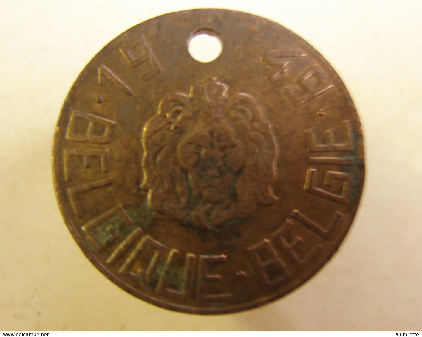 Méd. 40. Médaille De Chien En Cuivre Rouge De 1949 - Professionals / Firms