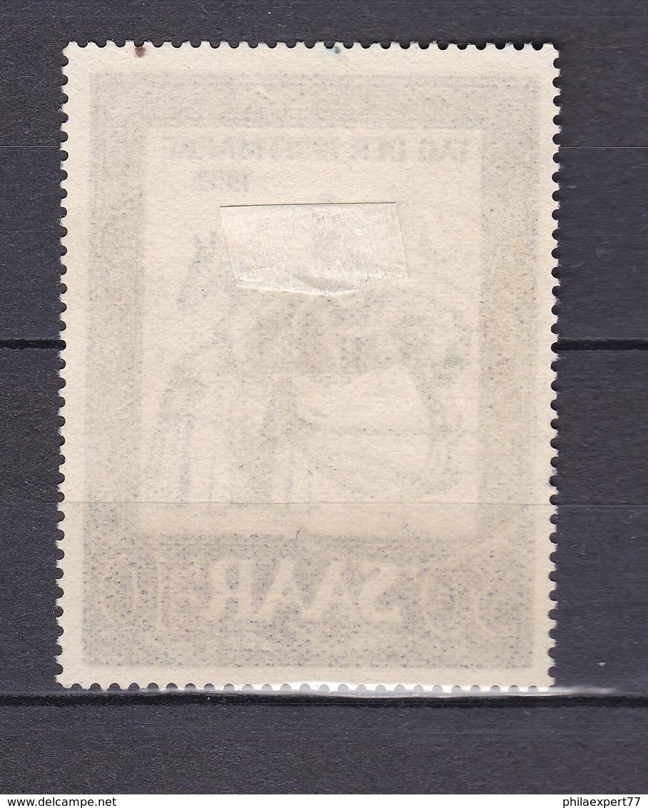 Saarland - 1952 - Michel Nr. 316 - Gest. - 35 Euro - 1947-56 Allierte Besetzung