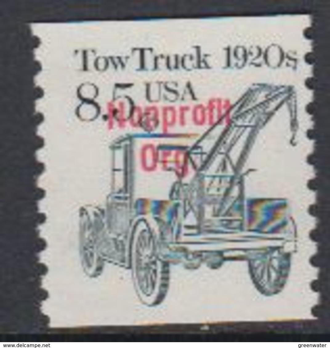 USA 1987 Tow Truck Nonprofit Org. 1v ** Mnh (43108C) - United States