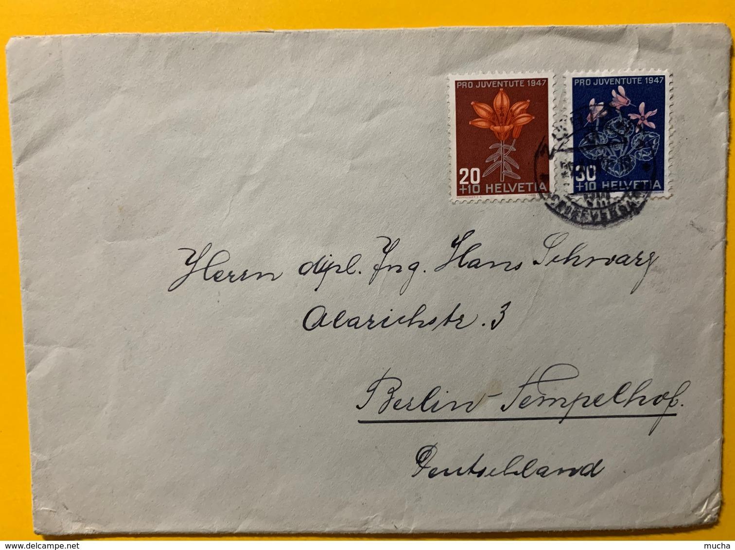 8680 - Nos 123 124 Sur Enveloppe Pour L'Allemagne - Lettres & Documents