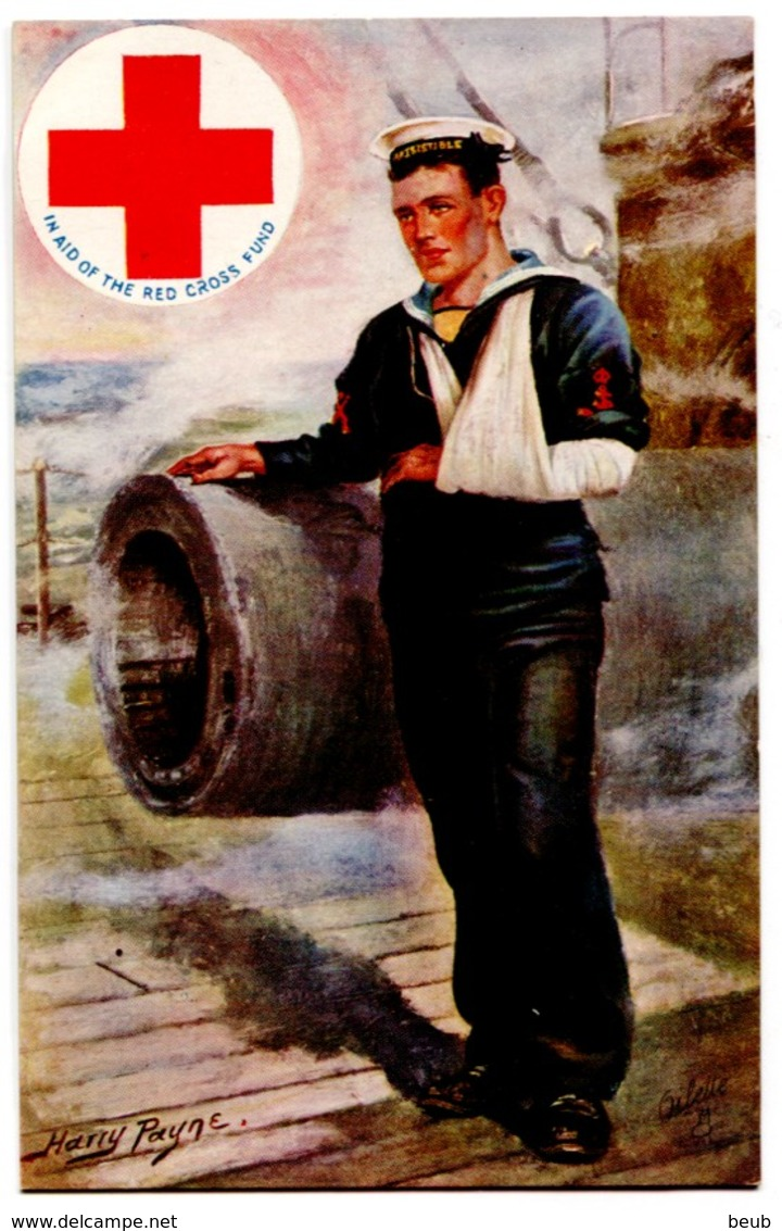 Tuck N° 8762 - Oilette - Red Cross Series - In Aid Of The Red Cross Fund - Croix Rouge - Croix-Rouge