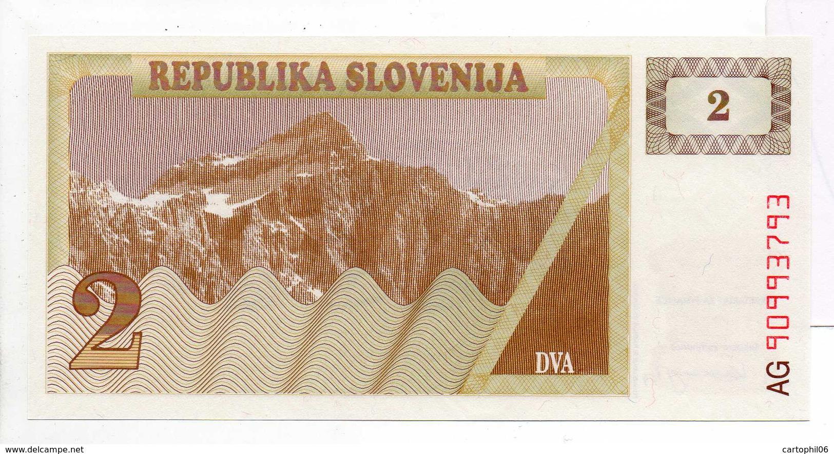 - Billet 2 TOLARS DVA SLOVENIE - - Slovénie