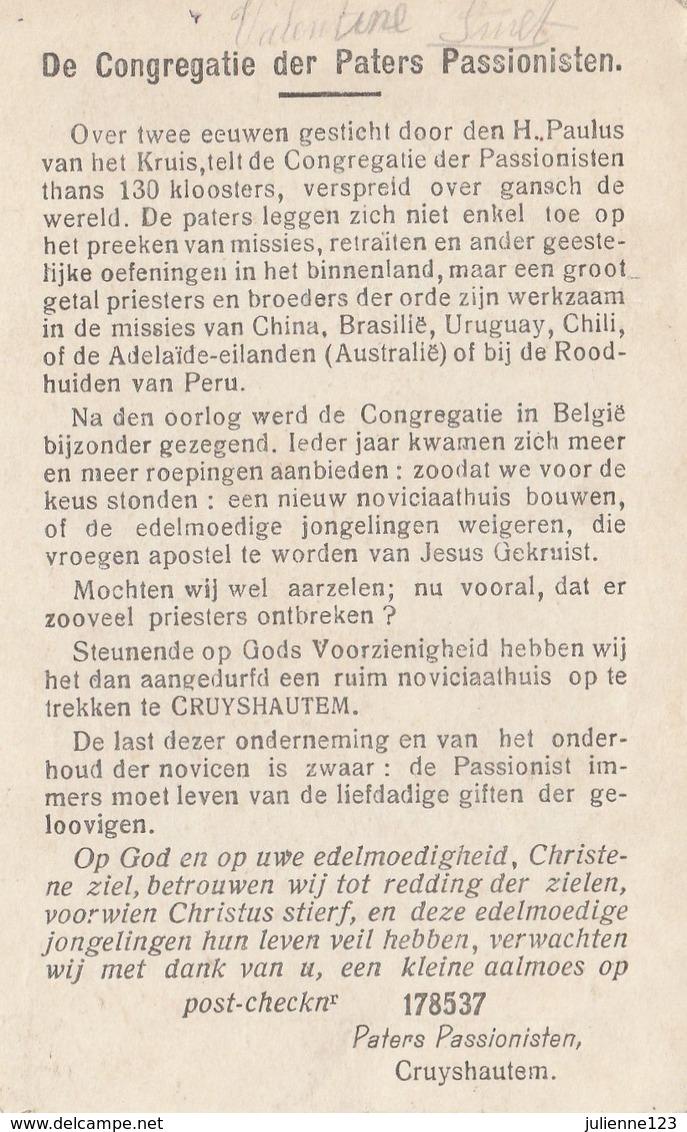 MOOI OUD HEILIG PRENTJE .VAN SANCTUS STEPHANUS MART. - Religion & Esotérisme