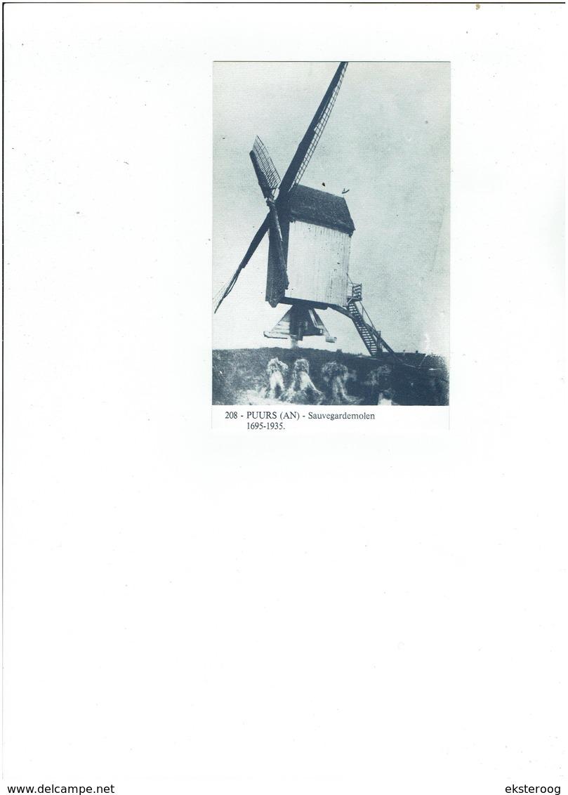 Puurs 208 - Sauvegardemolen - 1695-1935 - Puurs