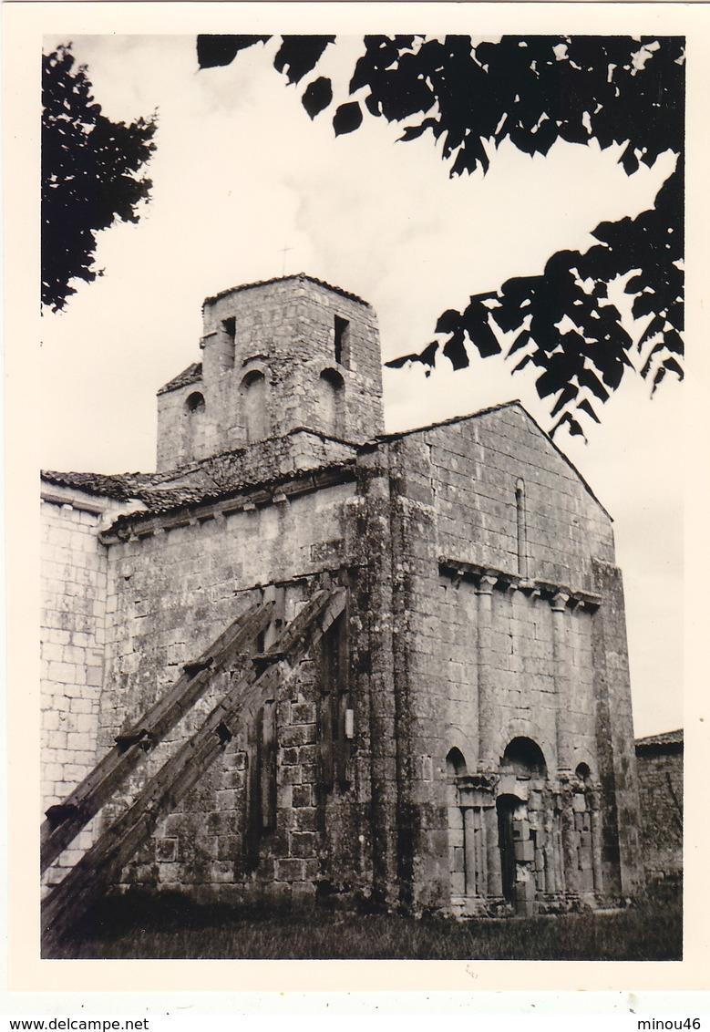 PHOTO ORIGINALE 11.7/8.3 CMS.THAIMS (17) .L EGLISE EN 07/1960 .T.BELLE. T.B.ETAT.PETIT PRIX. - Places