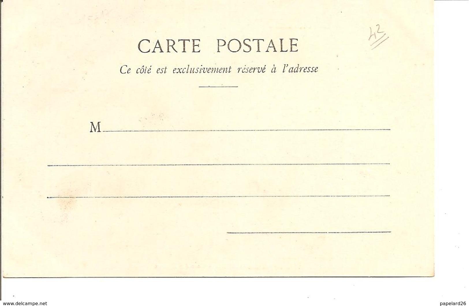 LOIRE  ROANNE LA GAR DES CANAUX  ANIMEE NON ECRITE - Roanne