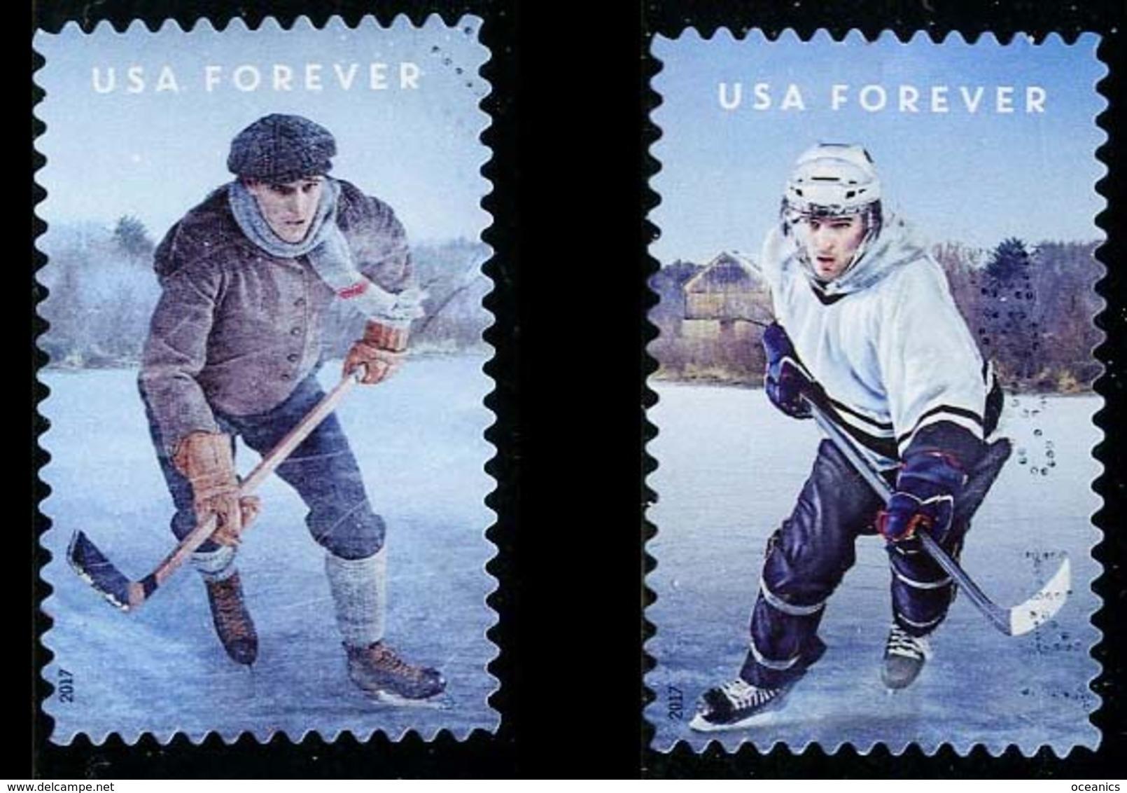 Etats-Unis / United States (Scott No.5253 - Hockey) ) (o) TB / VF - Used Stamps