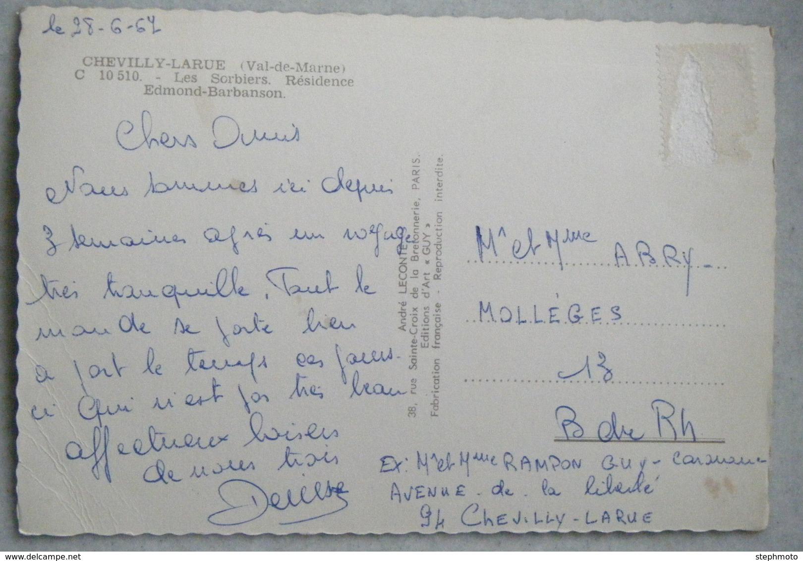 CHEVILLY LARUE-LES SORBIERS-RESIDENCE EDMOND BARBANSON - Chevilly Larue