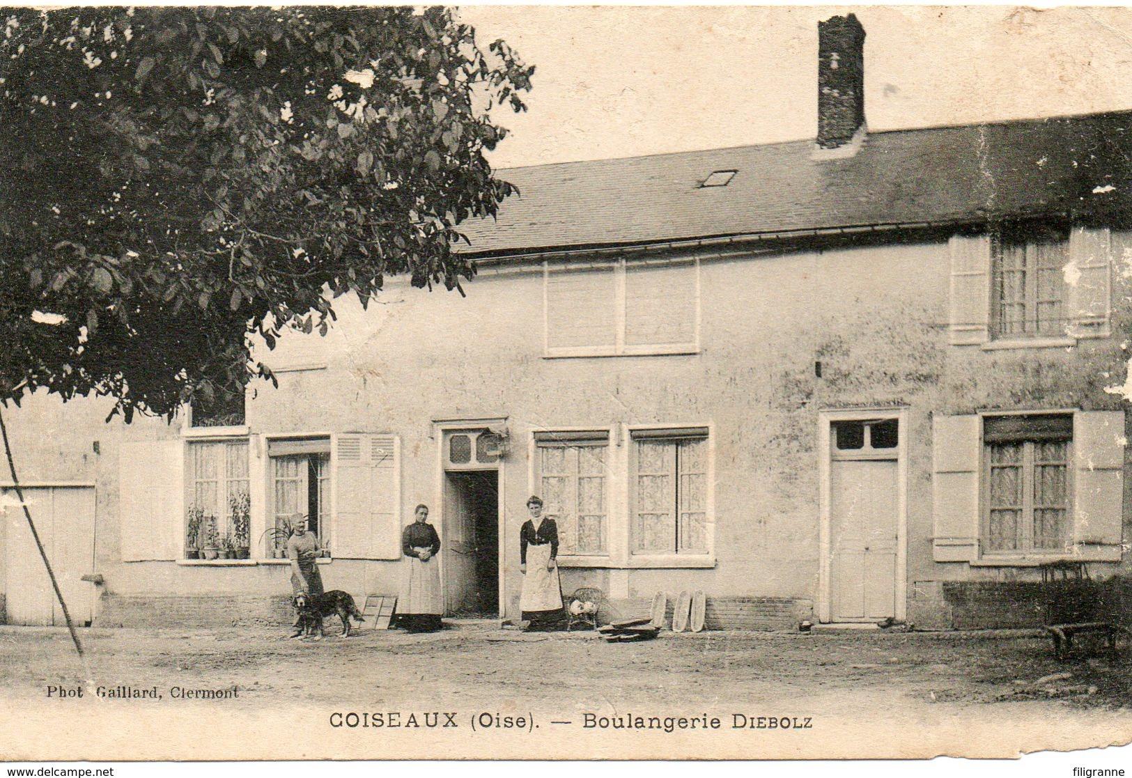 ESSUILES COISEAUX?  BOULANGERIE DIEBOLZen 1915 - France