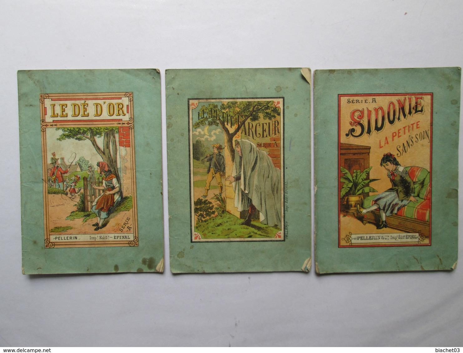 3 Livrets  ( Serie A Pellerin ) - Magazines