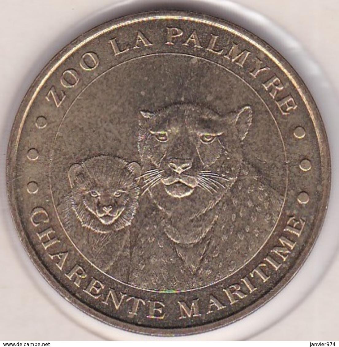 17. Charente Maritime.  Zoo La Palmyre Guépards 2005. Monnaie De Paris - 2005
