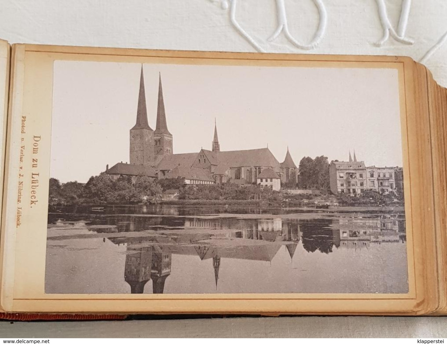 Album 72 Photos 1886 Kabinett Fotos Lübeck Lüneburg Berlin Potsdam Sanssouci Allemagne Deutschland - Photos