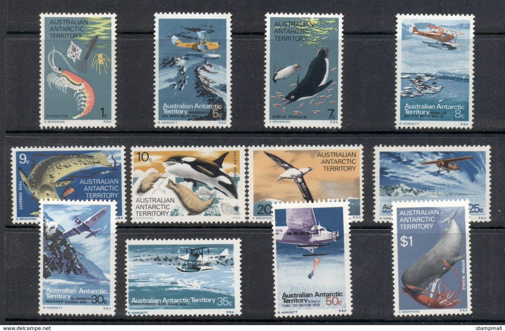 AAT 1973 Pictorials, Food Chain MUH - Unused Stamps