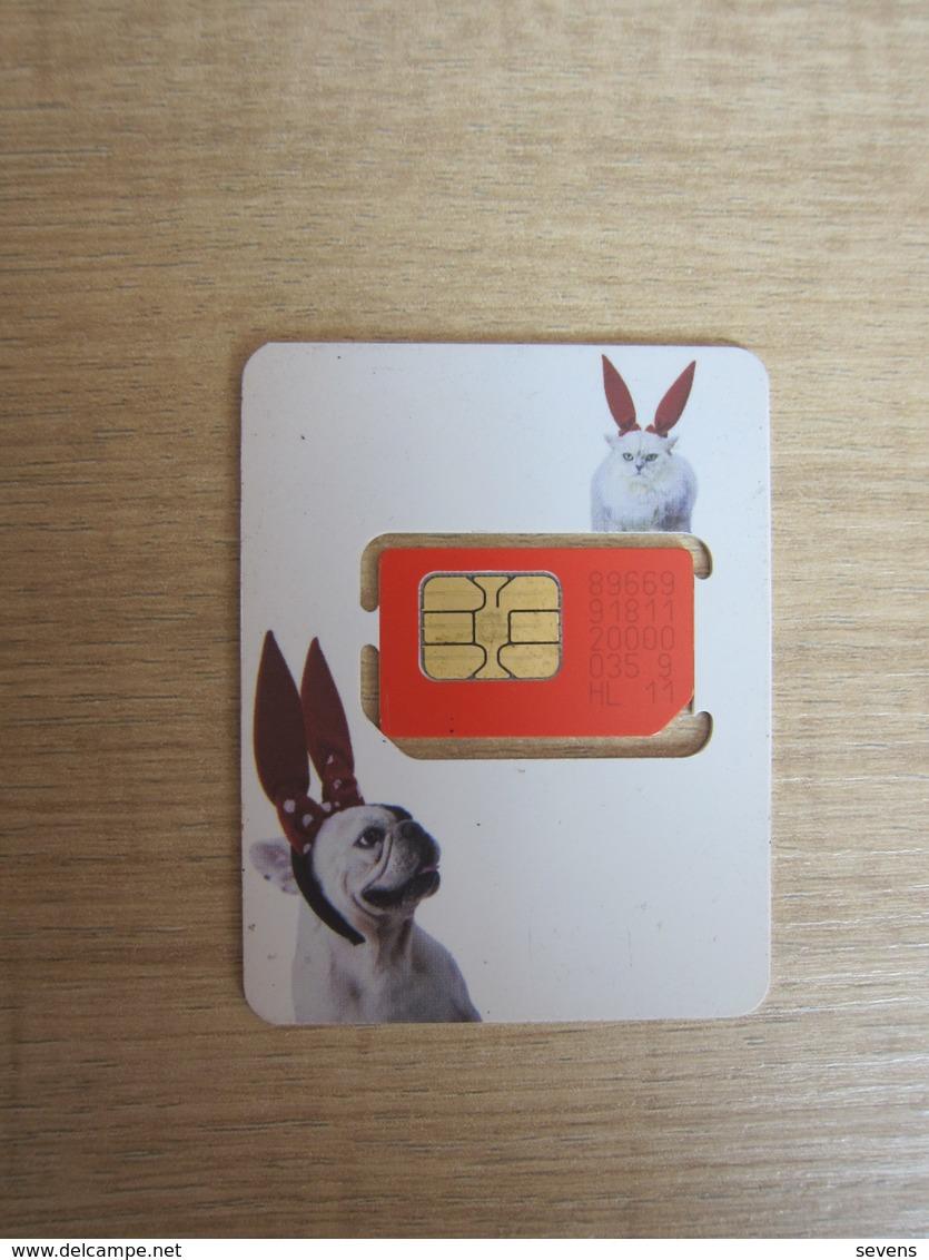 Truemove SIM Card,dog And Cat,fixed Chip - Thailand