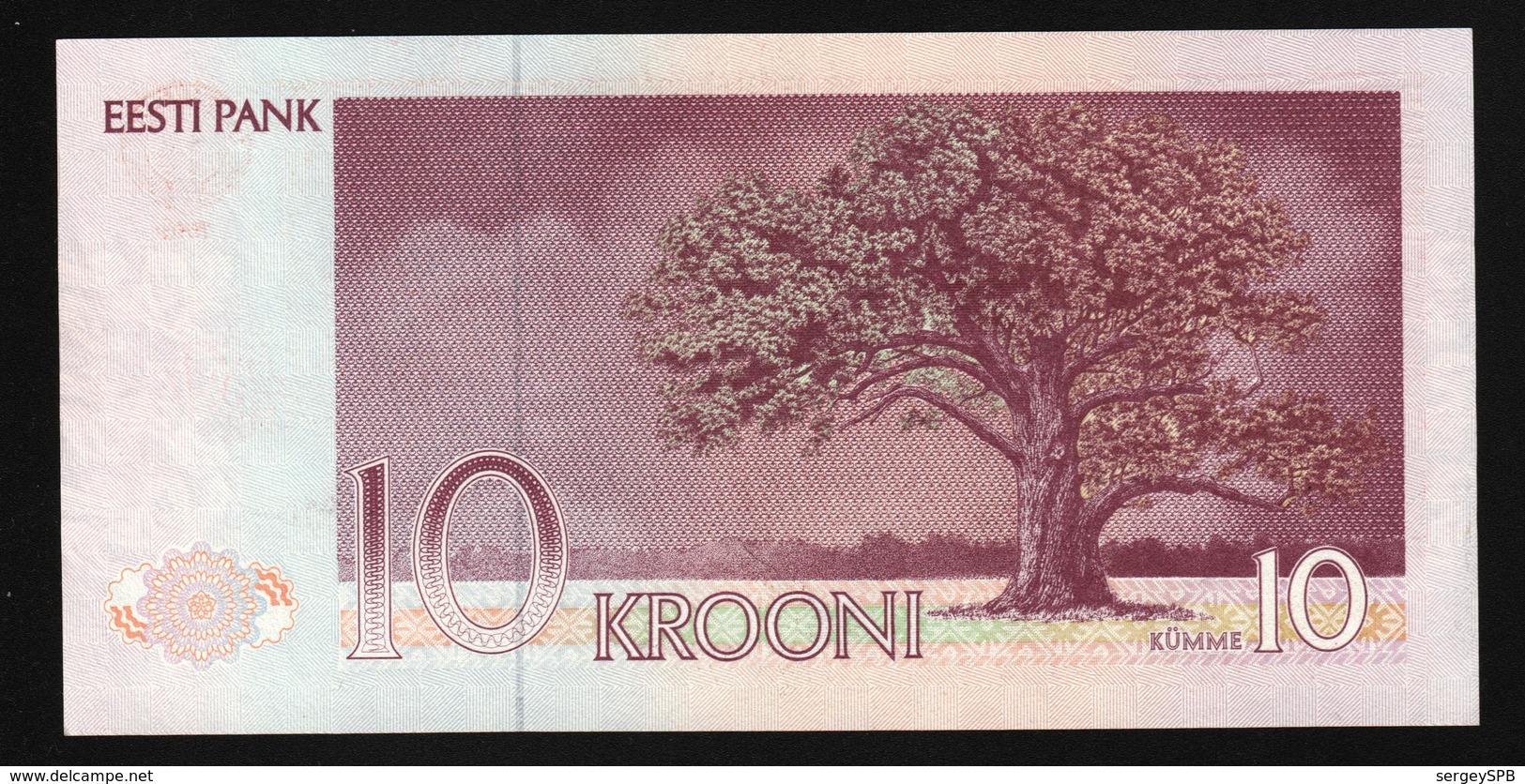 Estonia 10 Krooni 1991 (UNC) P-72a - Estonia