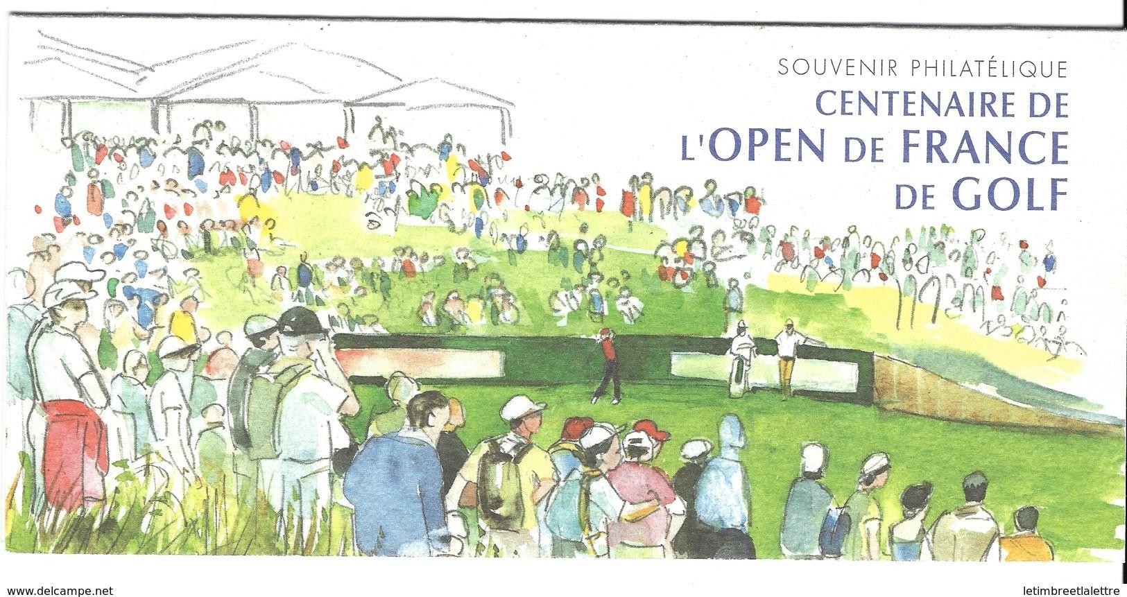 France, Bloc Souvenir, N° 13 ** TB ( Centenaire De L'open De France De Golf ) - Blocs Souvenir