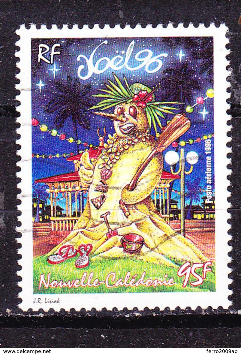 Nuova Caledonia 1996 Natale  Posta Aerea  Usato - Neukaledonien