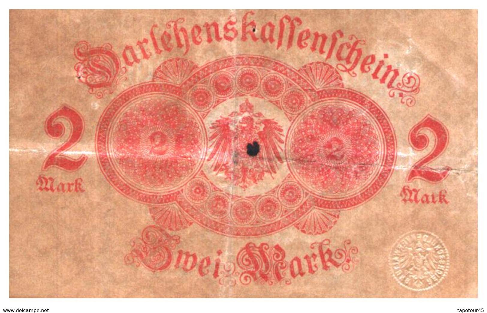Billets > Allemagne > 2 Mark 1914 - [ 2] 1871-1918 : Impero Tedesco