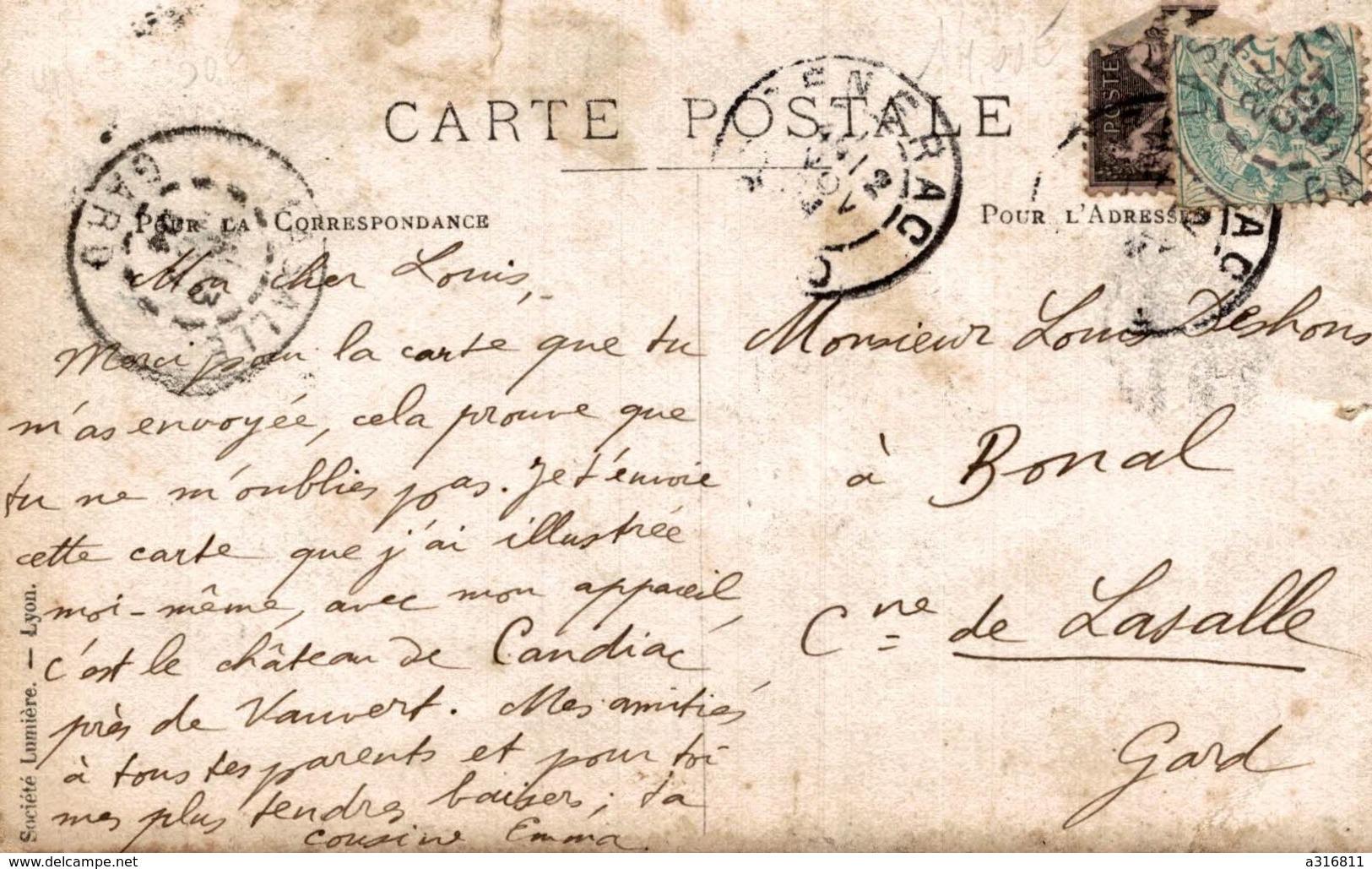 CHATEAU DE CANDIAC  PRES VAUVERT - France