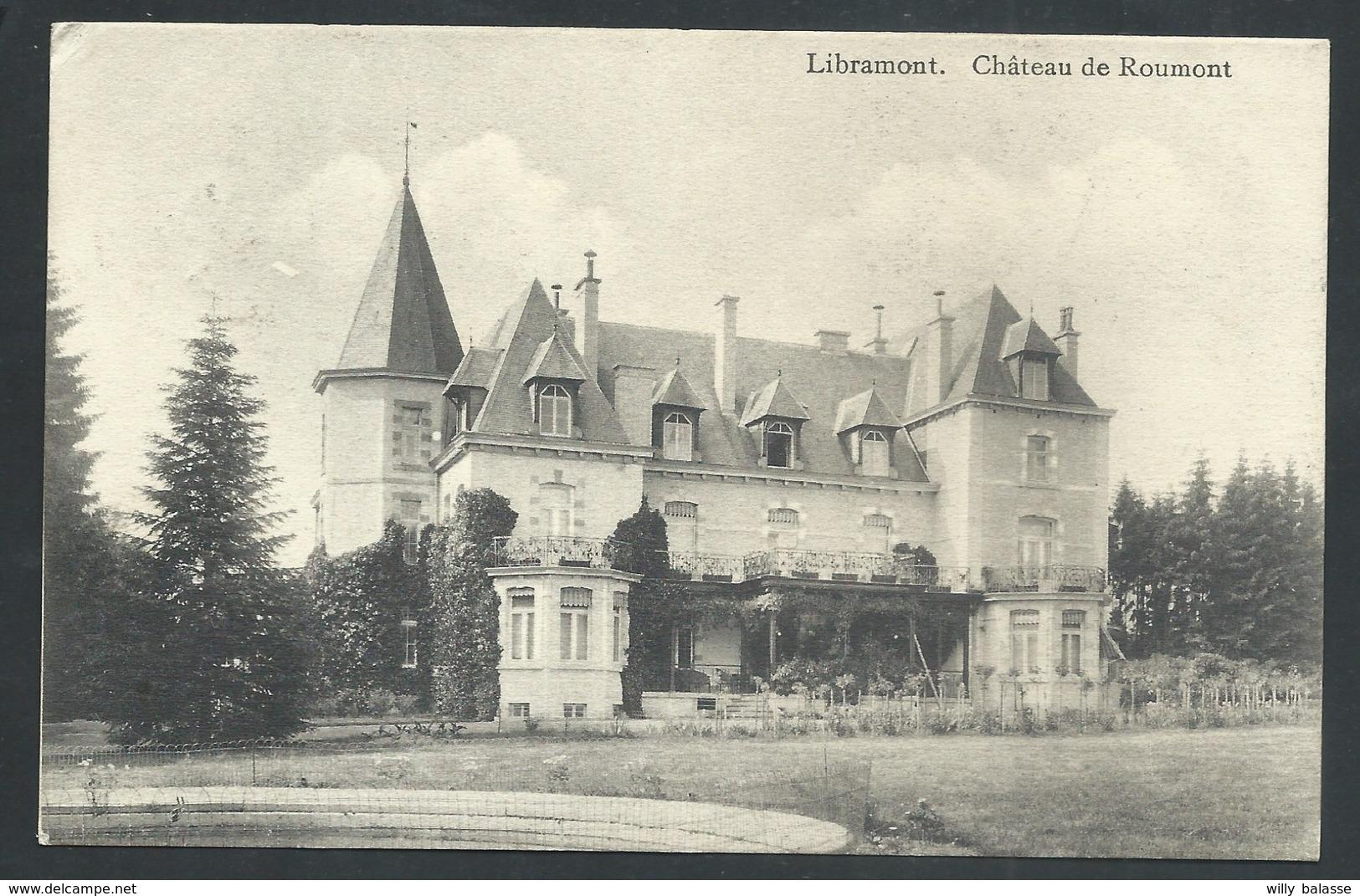 +++ CPA - A/A - LIBRAMONT - Château De ROUMONT   // - Libramont-Chevigny
