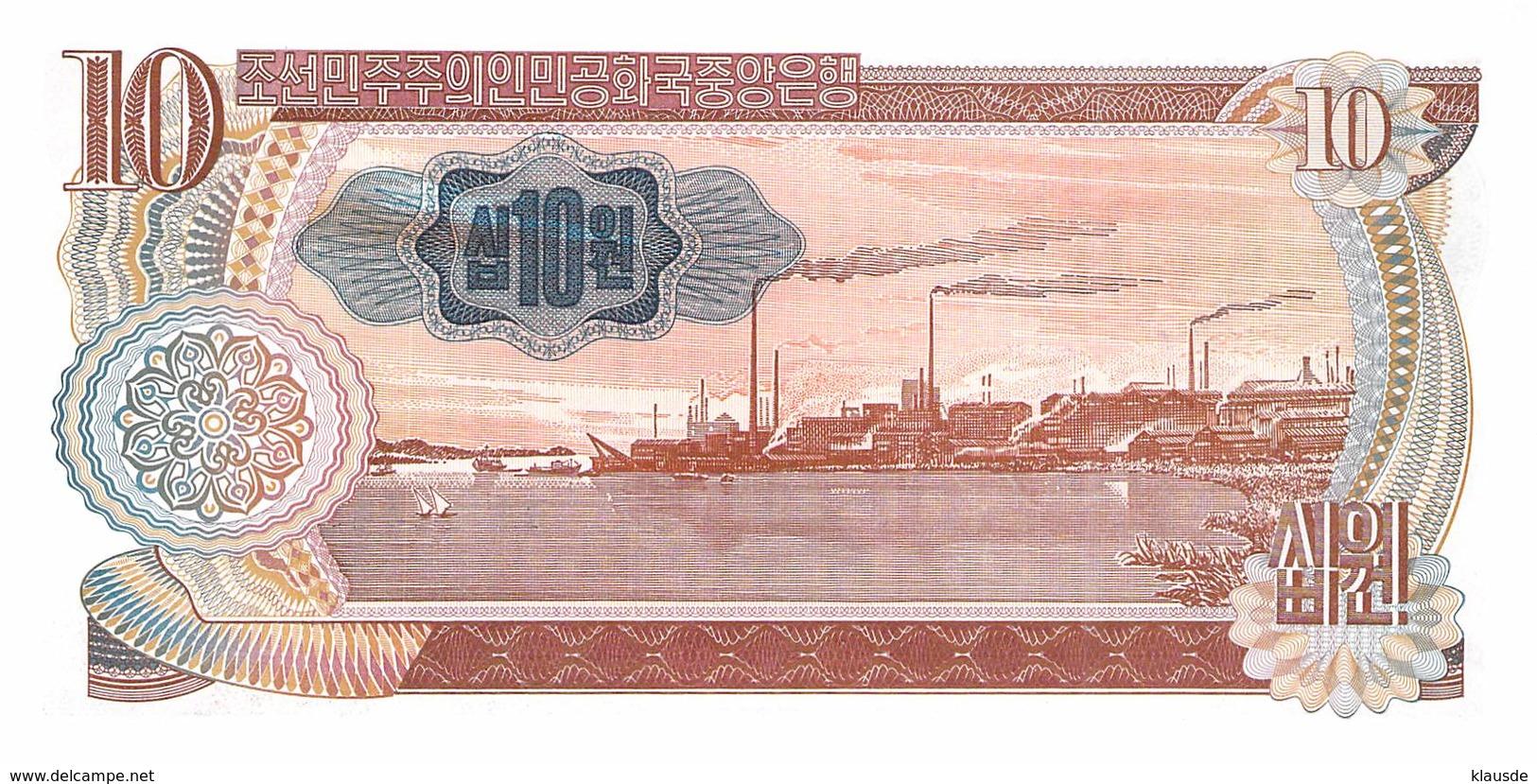 10 Wong Nordkorea 1978 UNC - Korea (Nord-)