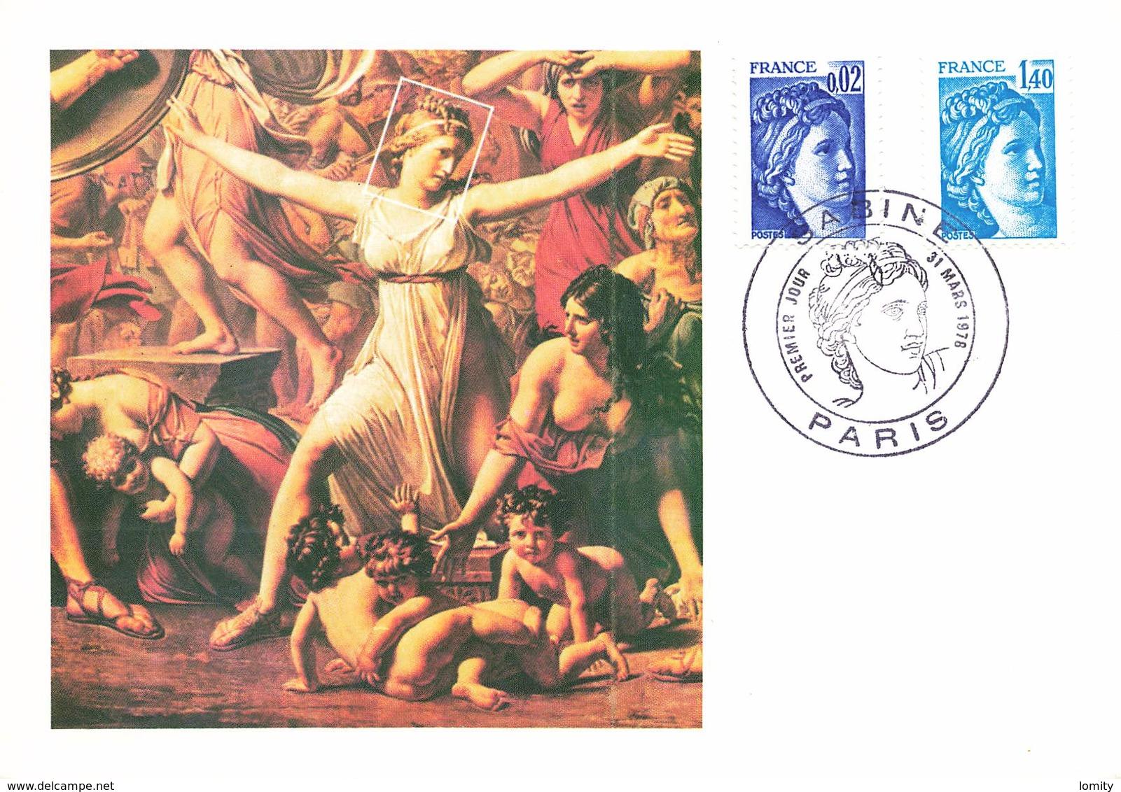 France Lot De 58 Cartes Carte Maximum Card Année 1978 Sabine Roland Garros  Tableau Croix Rouge ... - Maximum Cards