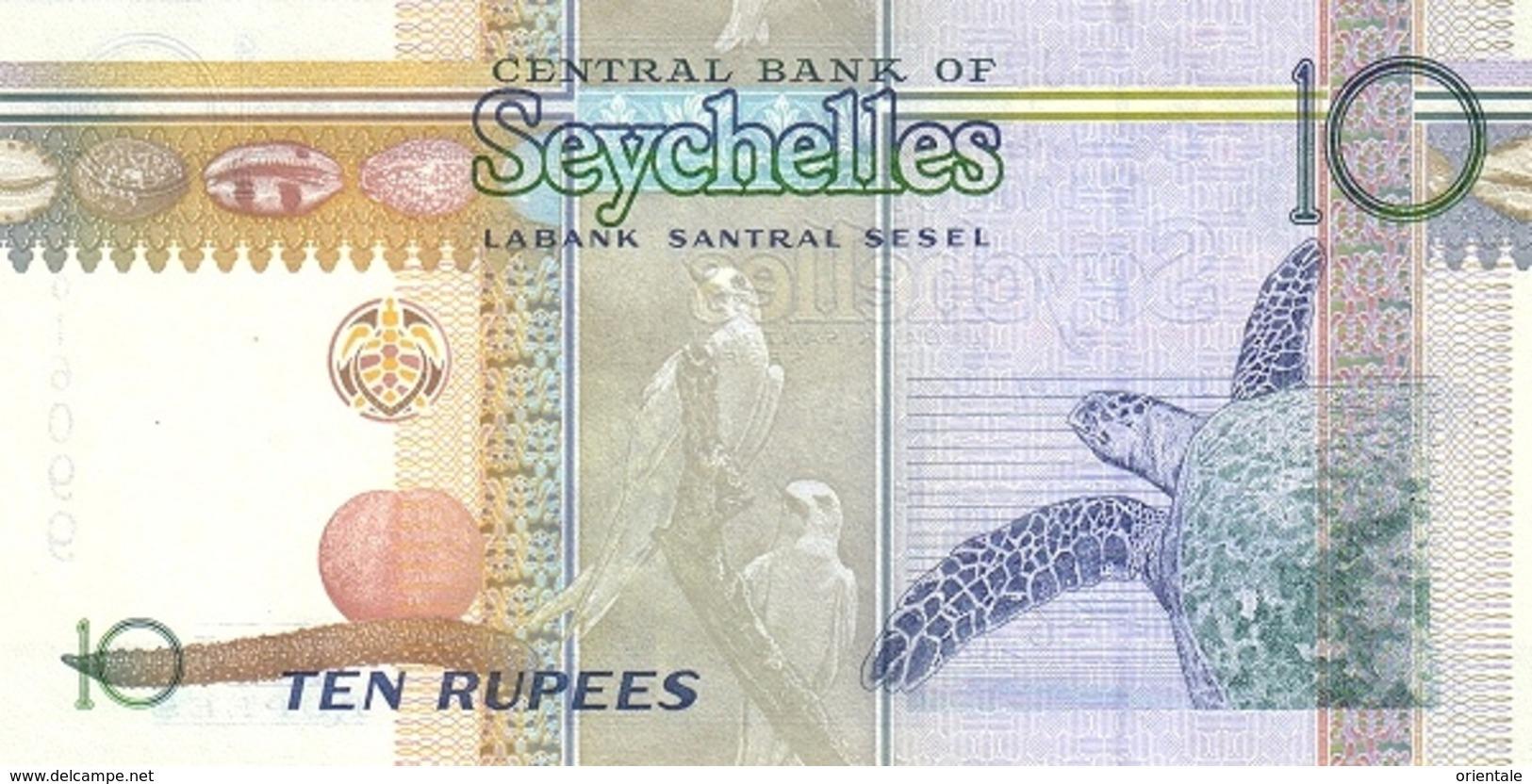 SEYCHELLES P. 36b 10 R 2008 UNC - Seychelles