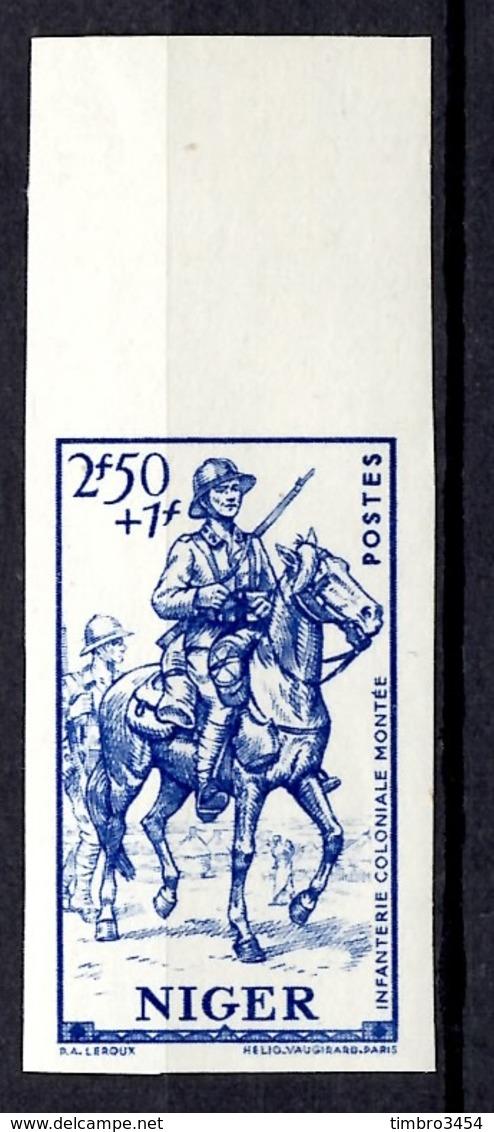 Niger Maury N° 96 Non Dentelé Neuf ** MNH. TB. A Saisir! - Niger (1921-1944)