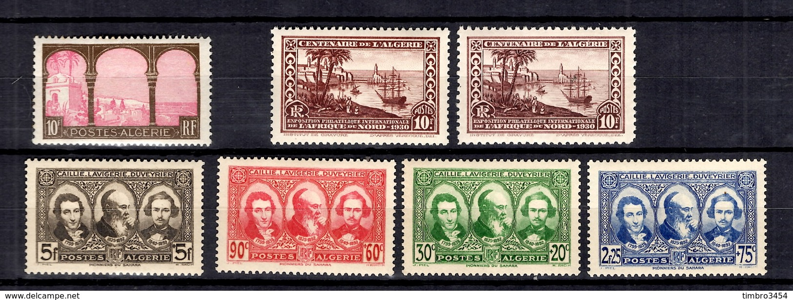 Algérie Maury N° 96, N° 101 (2) Et N° 145/148 Neufs *. B/TB. A Saisir! - Unused Stamps