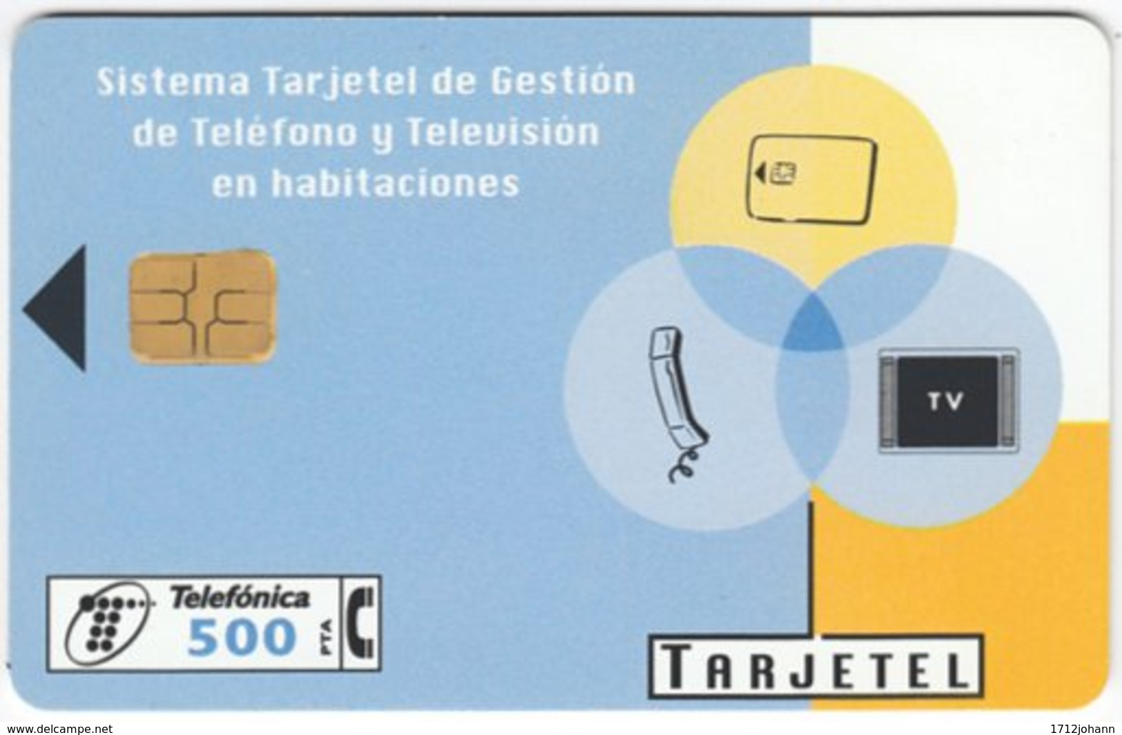 SPAIN B-372 Chip Telefonica - Used - Ohne Zuordnung