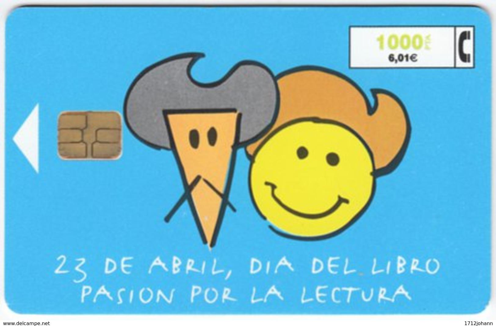 SPAIN B-414 Chip Telefonica - Cartoon - Used - Spanien