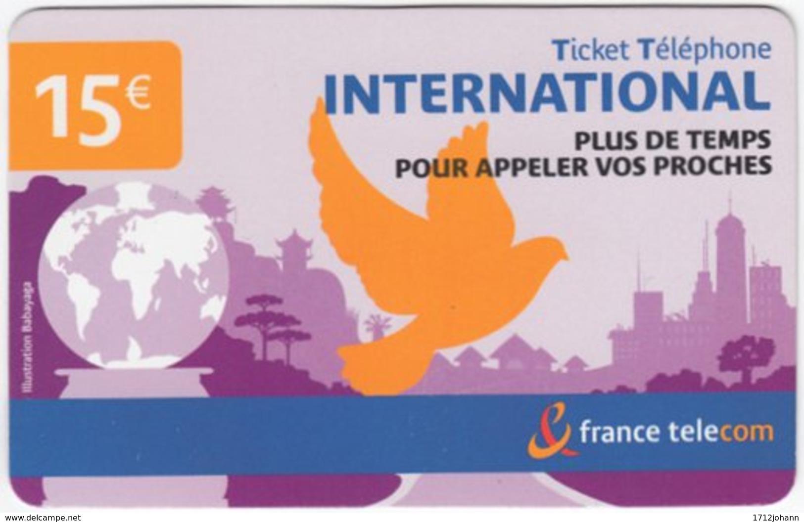 FRANCE C-588 Prepaid Telecom - Used - Frankreich