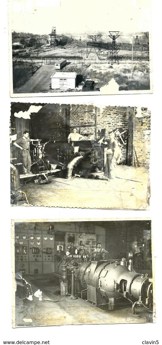 SAINT HILAIRE ST HILAIRE MINE ALLIER 03 RARE ENSEMBLE 13 PHOTOS 1950 - Places