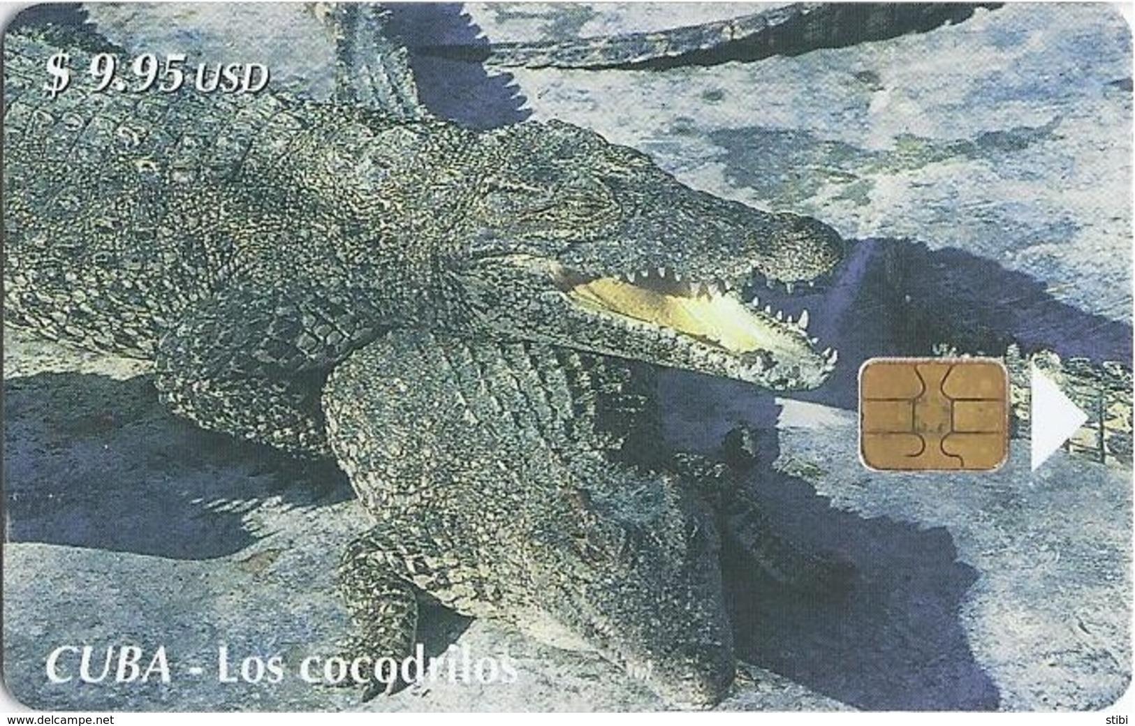 CUBA - CROCODILES - Cuba