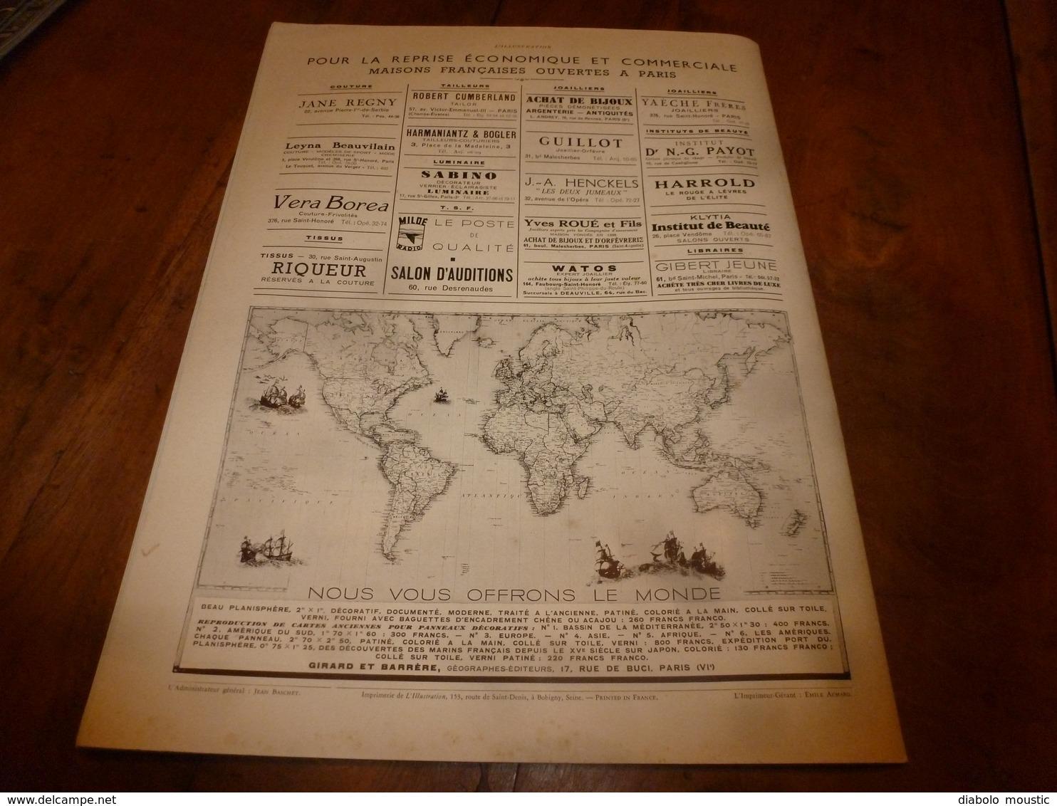 1940 L'ILLUSTRATION :Pardon Breton (Ste-Anne-la-Palue,Folgoat,Quimper);Hotel Sagonne;Joinville; Odyssée Orduna;Carol;etc - Journaux - Quotidiens