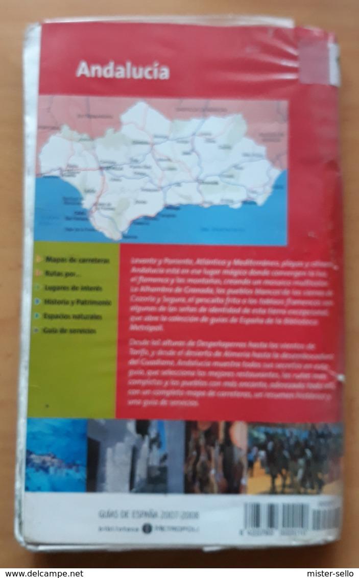 ANDALUCÍA. GUÍA TURISTICA DE VIAJE EDICIÓN 2007-2008. USADO - USED. - Tourism Brochures