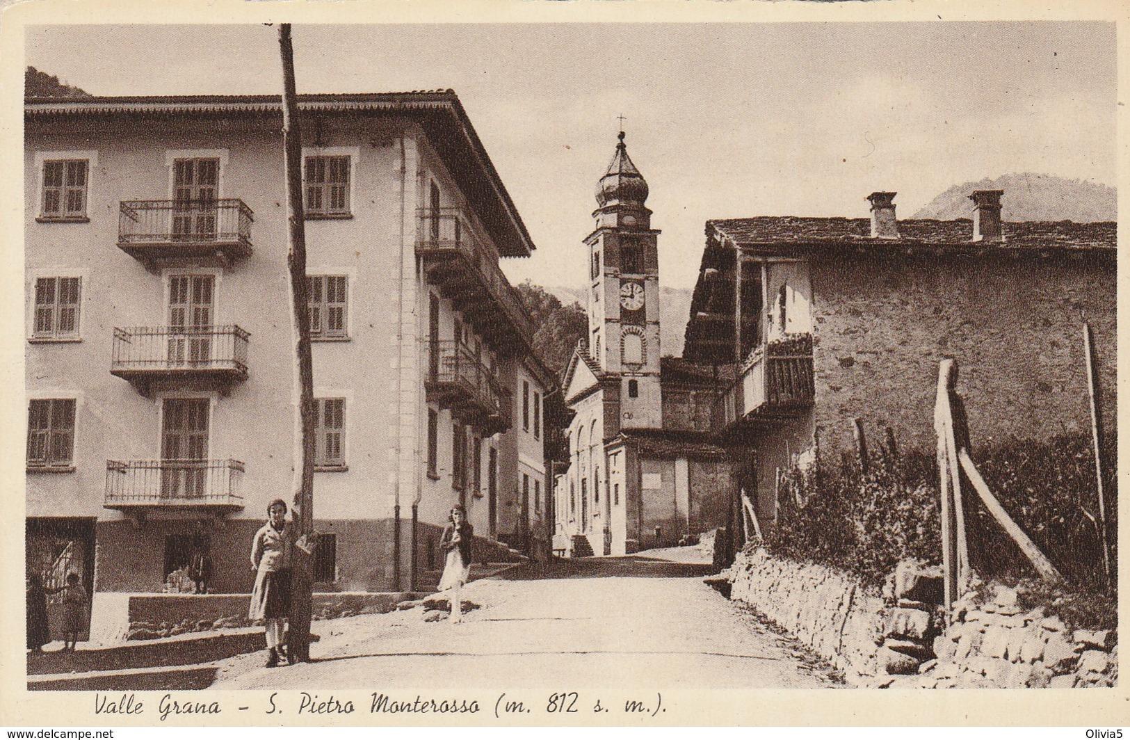 VALLE GRANA - S.PIETRO MONTEROSSO - Cuneo