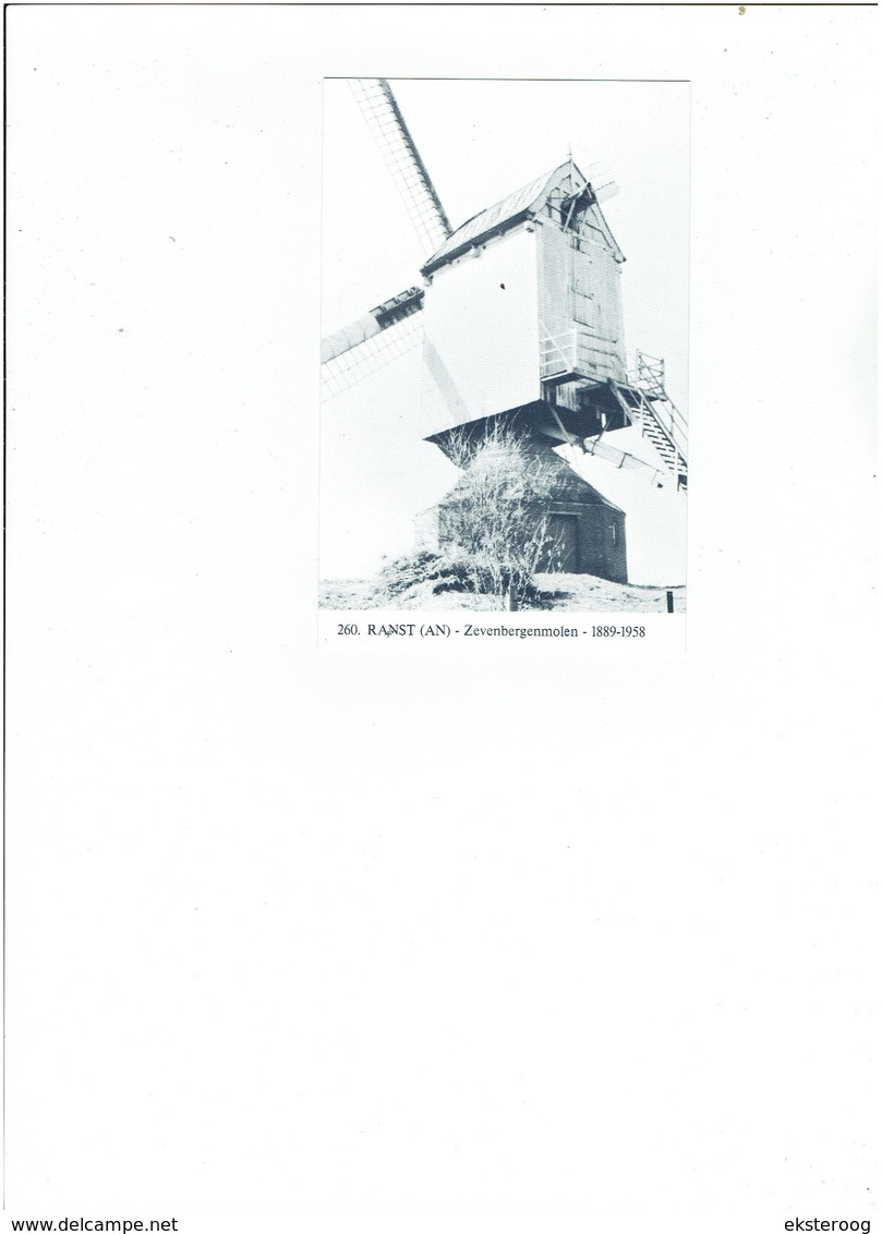 Ranst 260 - Zevenbergenmolen - 1889-1958 - Zandhoven