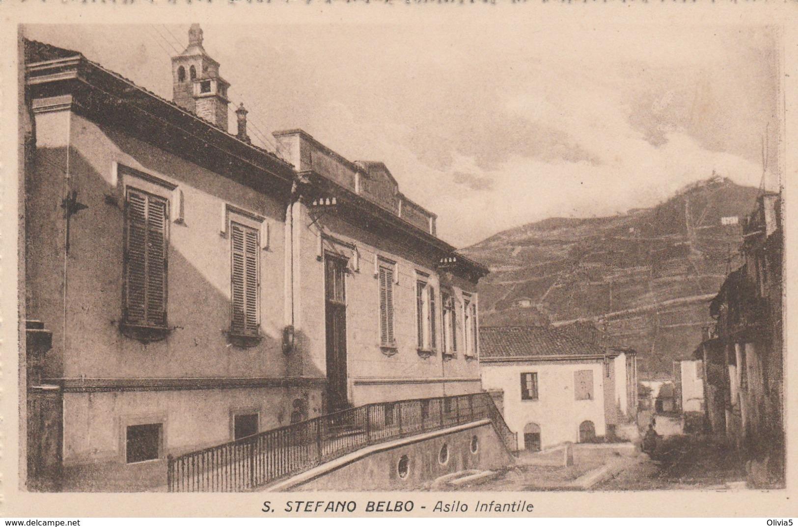 S.STEFANO BELBO - ASILO INFANTILE - Cuneo