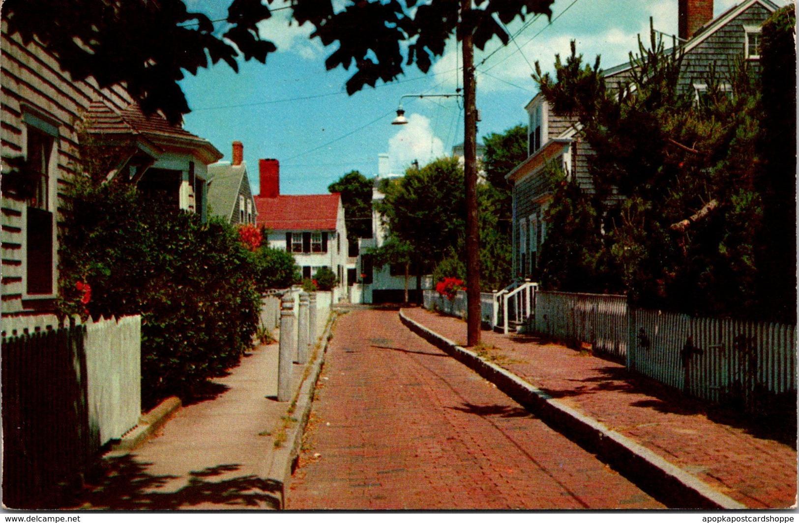 Massachusetts Nantucket Martin Lane 1957 - Nantucket