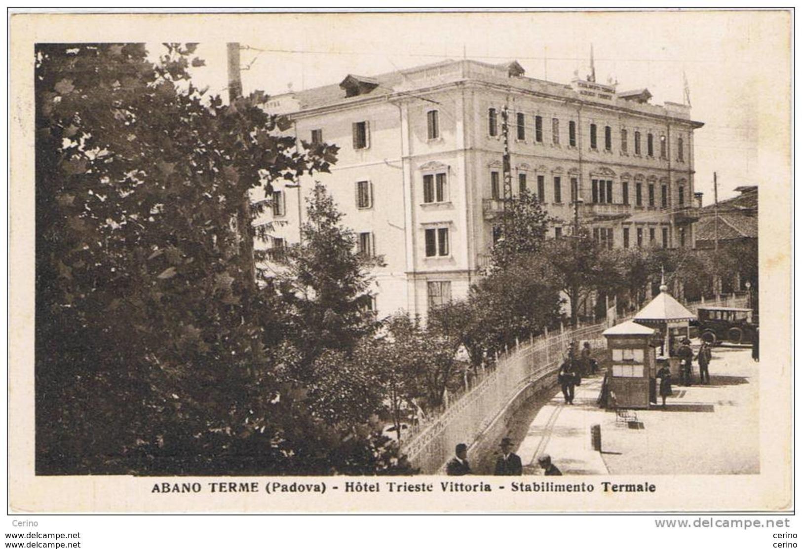 ABANO  TERME (PD):   HOTEL  TRIESTE  VITTORIA  -  STABILIMENTO  TERMALE  -  FP - Salute