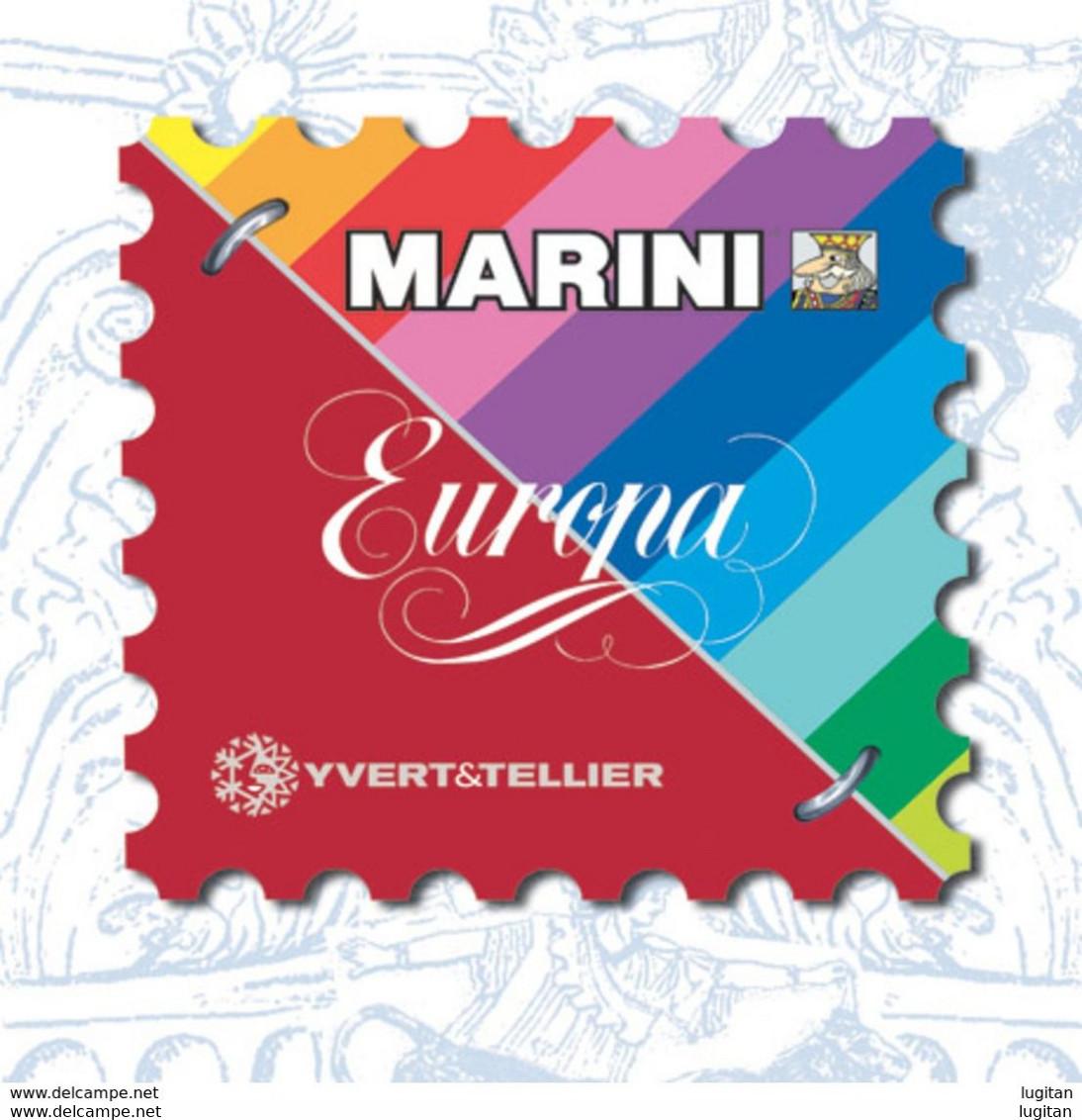 AGGIORNAMENTO MARINI VERSIONE EUROPA - SVIZZERA - HELVETIA -  ANNO 2016 - NUOVO - SPECIAL PRICE - Kisten Für Briefmarken