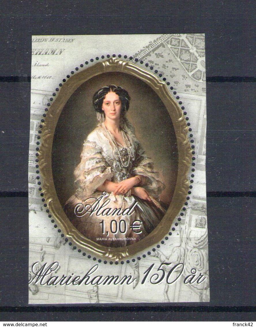 Aland. Maria Alexandrovna Impératrice De Russie - Aland
