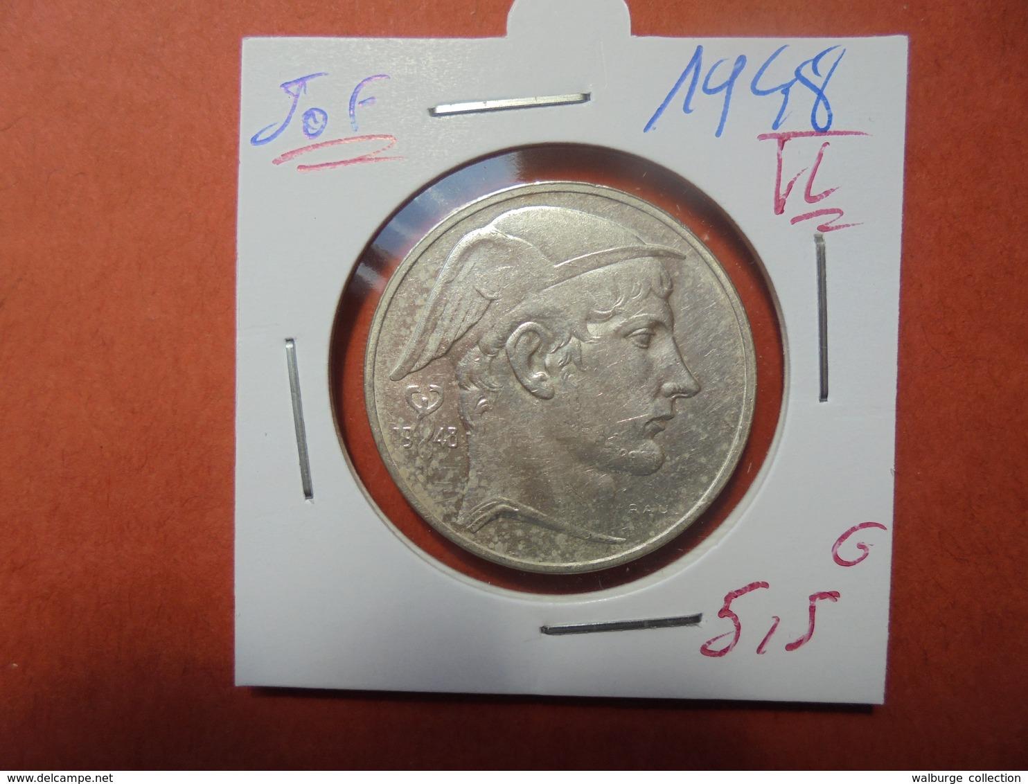 REGENCE 50 FRANCS 1948 VL ARGENT (A.7) - 05. 50 Francs