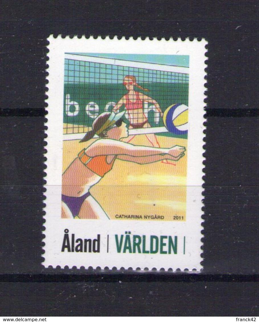 Aland. Sport. Beach Volleyball - Aland