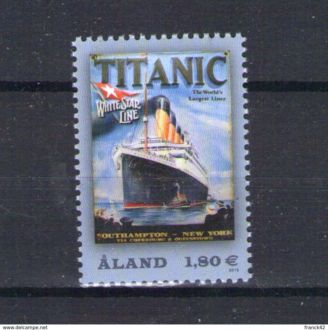 Aland. Centenaire Du Titanic - Aland