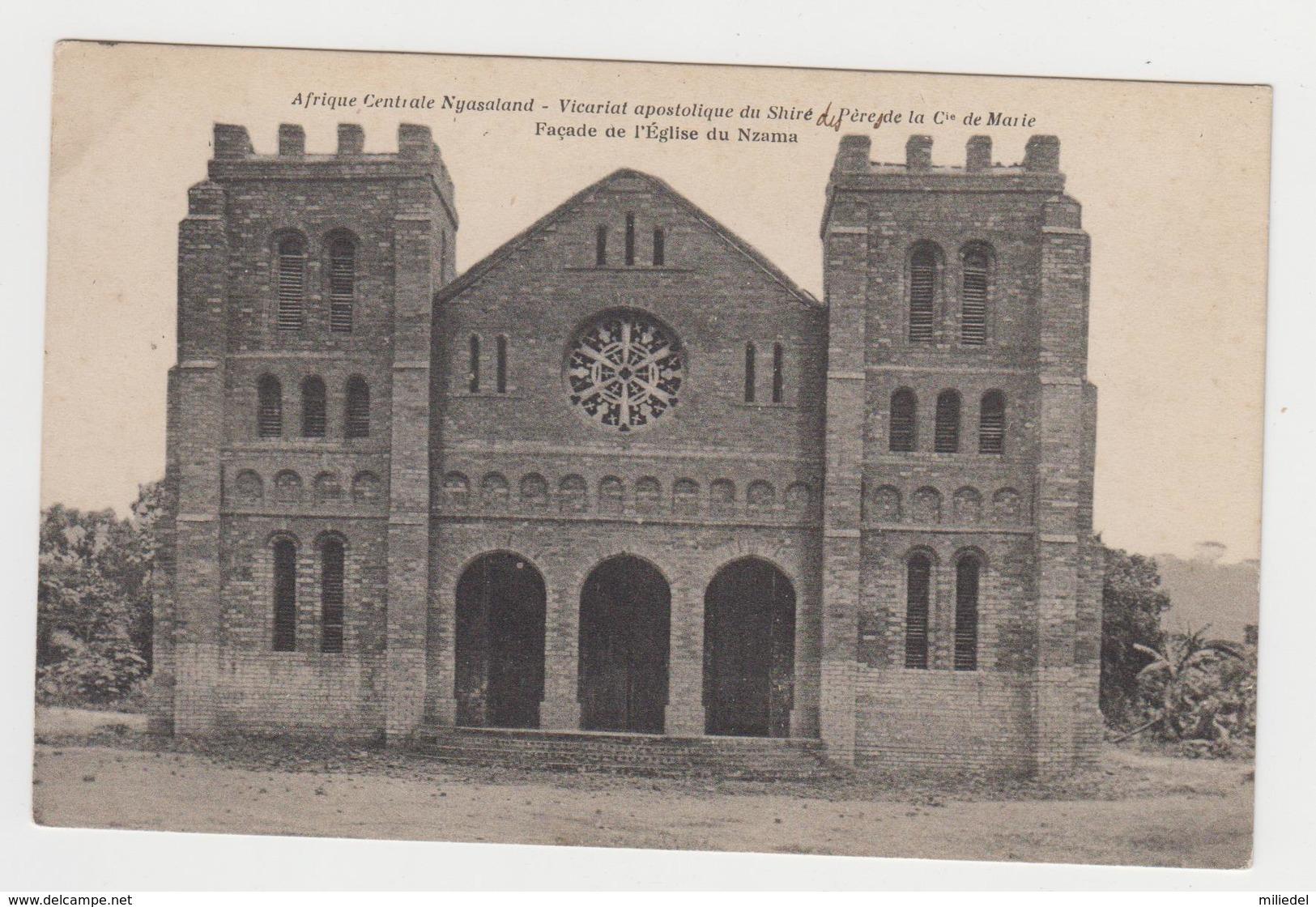 OR266 - Afrique Centrale Nyasaland - Vicariat Apostolique Du Shiré - Façade Eglise Du NZAMA - Malawi
