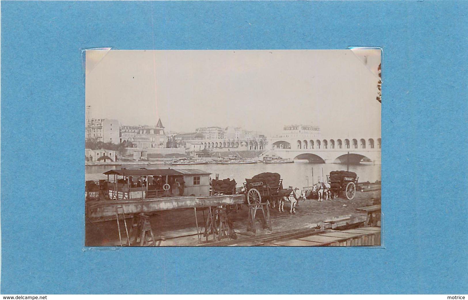 PARIS - Le Viaduc D'Auteuil, Vers 1900 (photo Format 8,9cm X 6cm) - Lieux